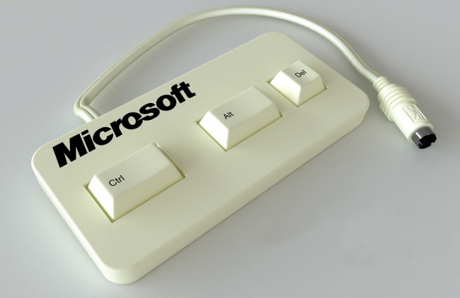 Funny picture  about windows and keyboard