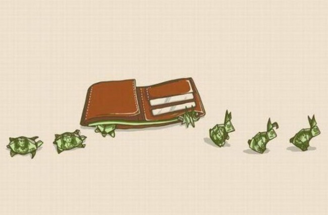 Funny picture  about money