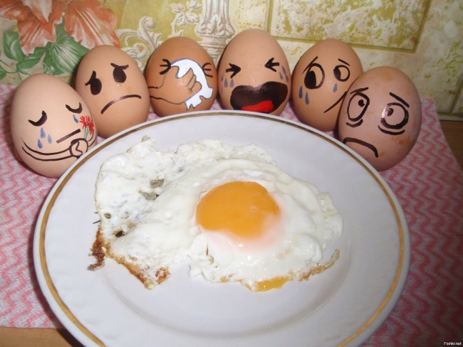 Funny picture  about egg