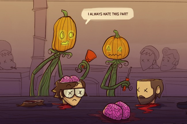 Funny picture  about halloween black