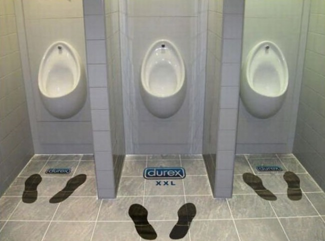 Funny picture  about urinal